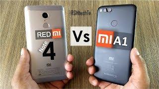 Video Mi A1 vs Redmi Note 4 | Battery, Gaming, Camera, Sound, Design & Build MP3, 3GP, MP4, WEBM, AVI, FLV Januari 2018