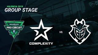 CompLexity vs G2 Esports - Group B - Day 2 - DreamHack Pro Circuit Valencia 2019