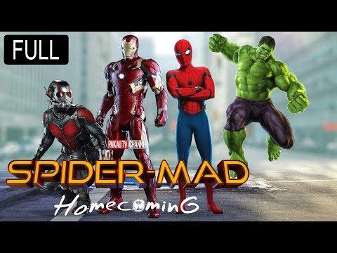 Spider-Man: Homecoming Full Movie Spoof | Hulk, Ant-Man & Iron Man | Hindi Comedy | Pakau TV Channel