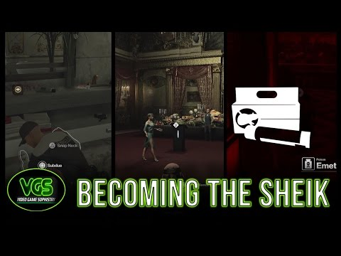 """Hitman Paris Challenges: Becoming a Sheikh! """"Guest of Honor + Your Excellency"""""""