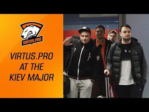 Virtus.pro at The Kiev Major: Team arrives in Kiev. | Dota 2