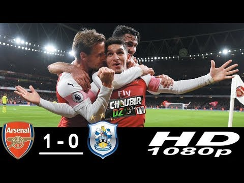 Arsenal Vs huddersfield 1-0 Premier league 08/12/2018