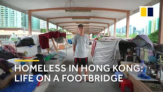Video Extreme poverty in Hong Kong: homeless life on a footbridge MP3, 3GP, MP4, WEBM, AVI, FLV Oktober 2018