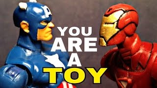 Alternate title: Civil War in 30 seconds Audio from Toy Story