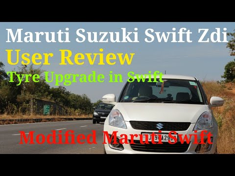 New Maruti Suzuki Swift zdi review in Hindi | Swift Tyre upgrade | Yokohama 205/55/R15 tyres