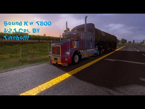 Kenworth T800 sound cat Final Version By tincho