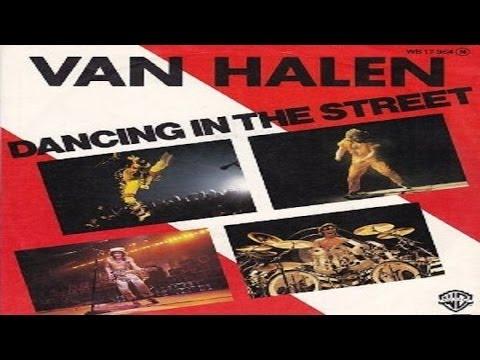 Tekst piosenki Van Halen - Dancing in the street po polsku