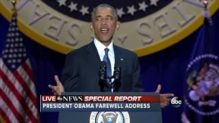 FULL: President Barack Obama's Farewell Address (Jan. 10, 2017)