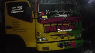 Variasi sticker truck canter 2