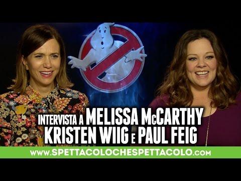 GHOSTBUSTERS   Melissa McCarthy, Kristen Wiig e Paul Feig intervistati