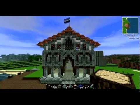 Ciudad Medieval Minecraft|| ''La Lonja'' Part 2 ||Grandes construcciones By BRBrrose