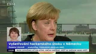 Vyšetřování hackerského útoku v Německu