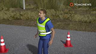 Video Good Samaritan: Traffic worker saves newborn baby abandoned near side of the road in Rio - TomoNews MP3, 3GP, MP4, WEBM, AVI, FLV Maret 2019