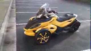 5. 2013 Can Am Spyder STS