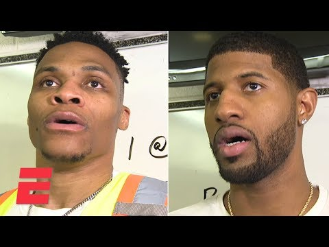 Video: Paul George, Russell Westbrook credit Thunder's defense in comeback win over Rockets | NBA Sound