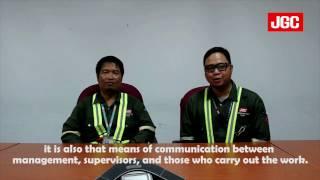 JGC Malaysia Sdn Bhd's PETRONAS LNG Train 9 Project PTW Educational Video