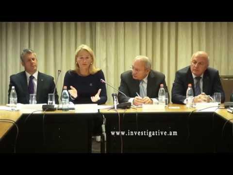 TAIEX  միջազգային փորձագիտական խմբի անդամները Հայաստանում