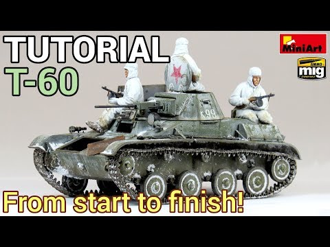 My super detailed tutorial about how to build, paint and weather a professional looking scale model tank from WWII [30:47]