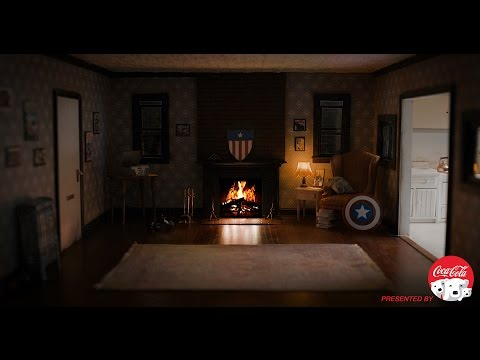 療癒氣氛滿點!美國隊長的暖爐