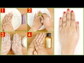 How to Do Skin Lightening Tan Removal Manicure At Home   With DEMO