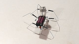 "Hi Guys,This is another walking robot tutorial video. In this tutorial, I'll be showing you step by step process  to make a simple six legged walking insect robot.Parts needed to build this one:Ice cream/popsicle stickPaper clipsDrinking strawGear motorTerminal blockBolts, nuts and locknutsWireDouble sided tapeBlack electric tape (optional)If there's any confusion found in this tutorial, feel free to ask me.To improve the contents of this channel, please subscribe, share and  leave a comment.Music:""Rollin at 5 - electronic"" Kevin MacLeod (incompetech.com) Licensed under Creative Commons: By Attribution 3.0http://creativecommons.org/licenses/by/3.0/Follow me on:Facebook: https://www.facebook.com/Homemade.RobotsGoogle+: https://plus.google.com/u/0/+galopante78/"