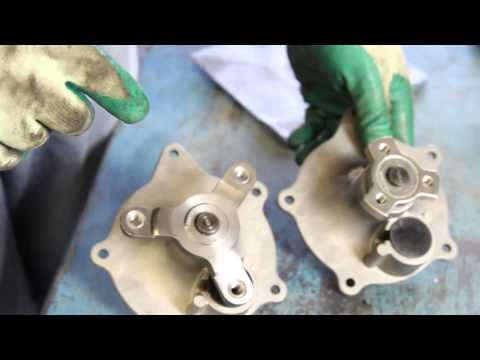 How to Install a Water Pump – 1990-2000 Dodge Grand Caravan 3.3L 3.8L V6 WP-732 AW7126