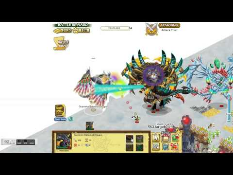 Social Empires - Supreme Bahamut Dragon Vs Epic Dragon (6)
