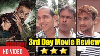 Bhoomi Movie Public Review | 3rd Day First Show | Sanjay Dutt, Aditi Rao Hydari
