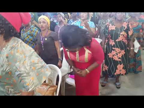 Idika African Trumpet Live Ministration @ Holy Family Happy Family Ministry Ikorodu Lagos