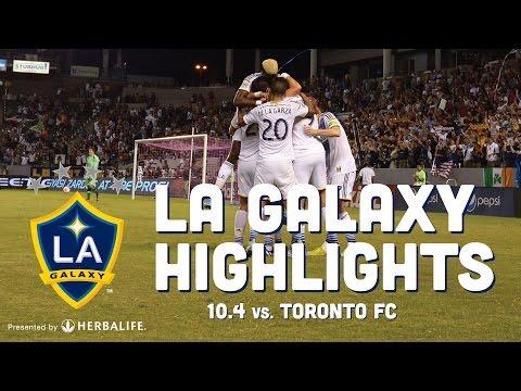 Video: LA Galaxy vs Toronto FC | HIGHLIGHTS