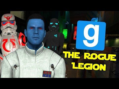 The Rogue Legion - Star Wars RP (Garry's Mod) (видео)