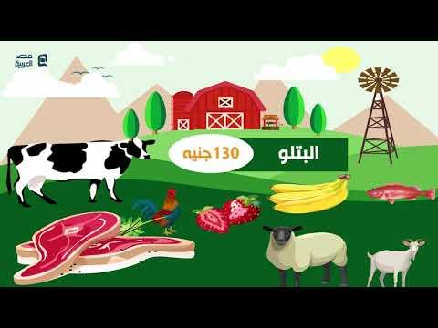 أسعار الخضار والفاكهة واللحوم والاسماك والدواجن السبت 19-1-2020