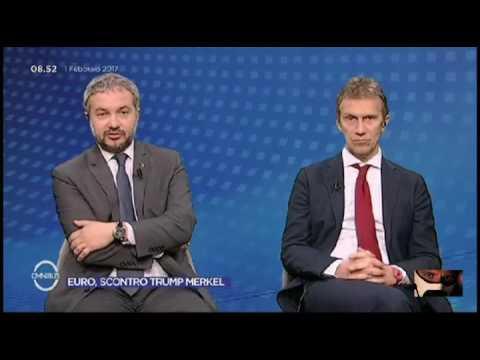 """claudio borghi aquilini omnibus tema """"euro"""" al corralito di taddei"""
