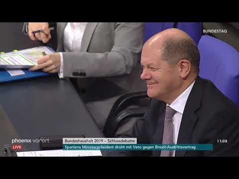 Haushaltswoche im Bundestag: Schlussdebatte zum Bun ...