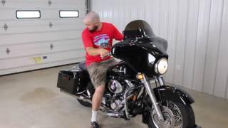 8. 2006 Harley Davidson Street Glide Rinehart exhaust sound