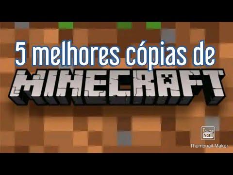 5 melhores cópias de Minecraft!!