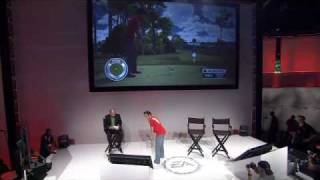 EA SPORTS Show with Peter Moore- Tiger Woods PGA Tour 11 with Sony Move