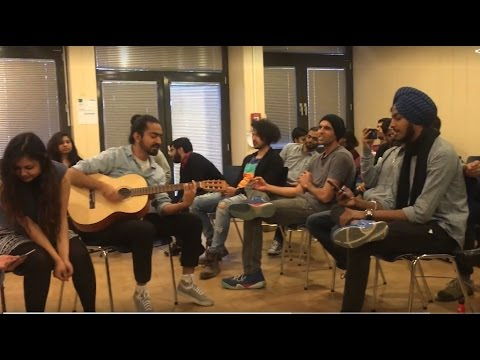3 chords hindi songs   Am G F   Jam Session in Germany   Part 1