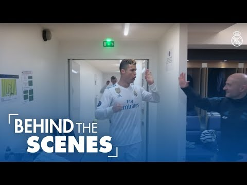 PSG 1-2 Real Madrid | RONALDO & HIS TEAMMATES IN THE DRESSING ROOM: Celebrations