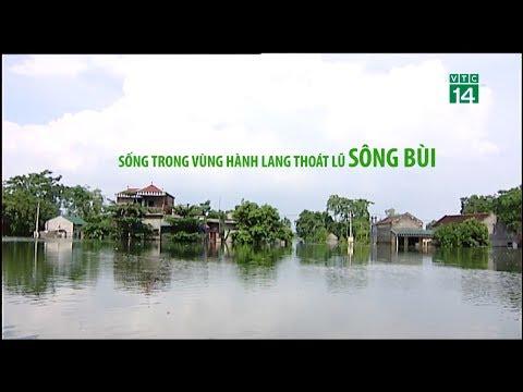 Sống trong vùng hành lang thoát lũ sông Bùi| VTC14