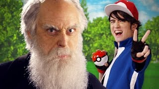 Ash Ketchum vs Charles Darwin. Epic Rap Battles of History.