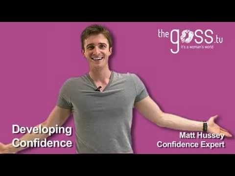 confidence - Get Matthew's online home-study programme 'The Man Myth