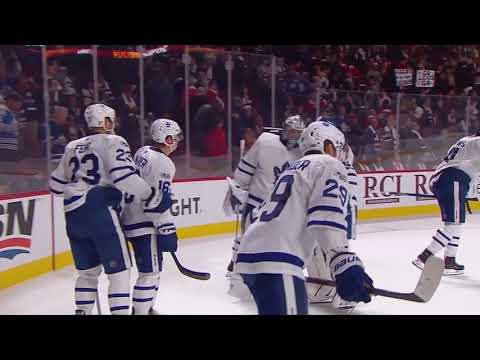 Auston Matthews scores Overtime Game Winner! 10/14/17 (Toronto Maple Leafs vs Montreal Canadiens)