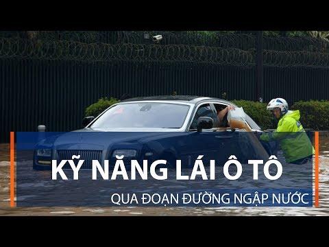 Kỹ năng lái ô tô qua đoạn đường ngập nước | VTC1 - Thời lượng: 3 phút, 43 giây.