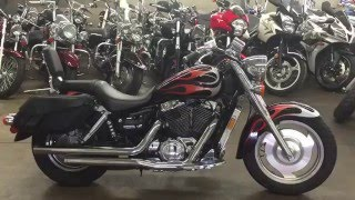 3. 2005 Honda shadow saber 1100 walk around