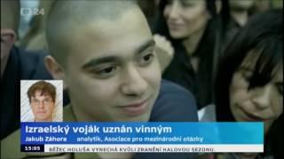 Izraelský voják uznán vinným za zabití Palestince