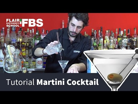martini cocktail, il re dei drink
