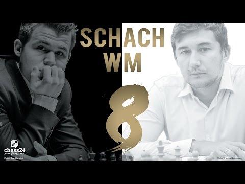 Schach WM 2016: Carlsen - Karjakin Partie 8 Schach  ...