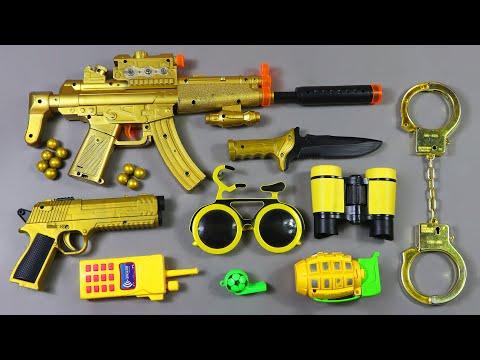Free Fire Mobile MP5 SMG Gun in Toys - Desert Eagle Pistol & Military Equipment