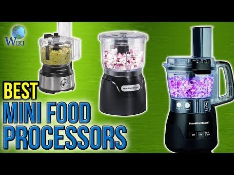 10 Best Mini Food Processors 2017